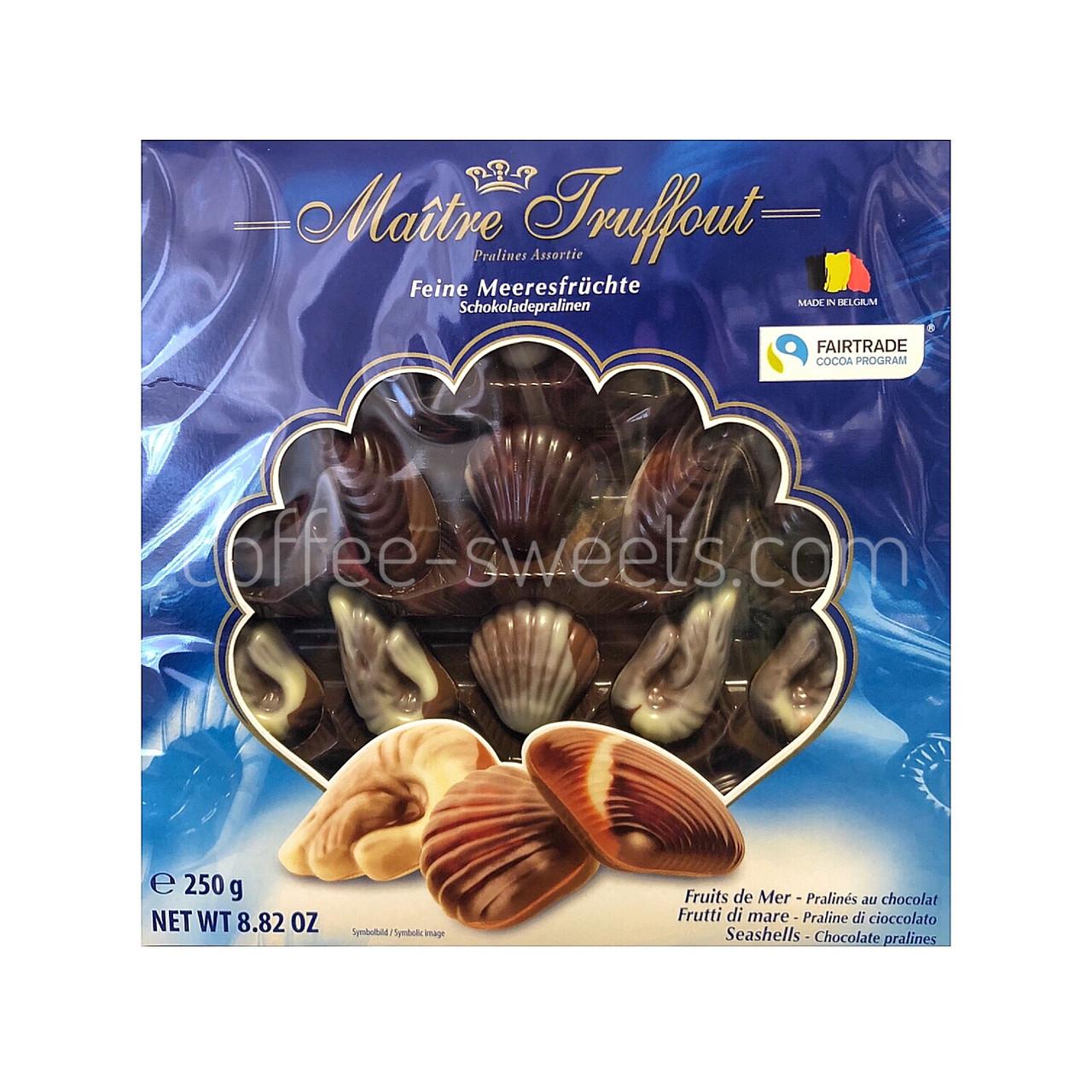 Конфеты Maitre Truffout Feine Meeresfrüchte 250 гр