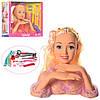 Кукла-манекен DEFА Голова для причесок  для причесок макияжа и маникюра с аксессуарами в коробке