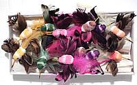 Колибри на прищепке №20 (12 см., набор 12 штук)