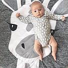 Детский игровой коврик из хлопка на пол (жираф), фото 2