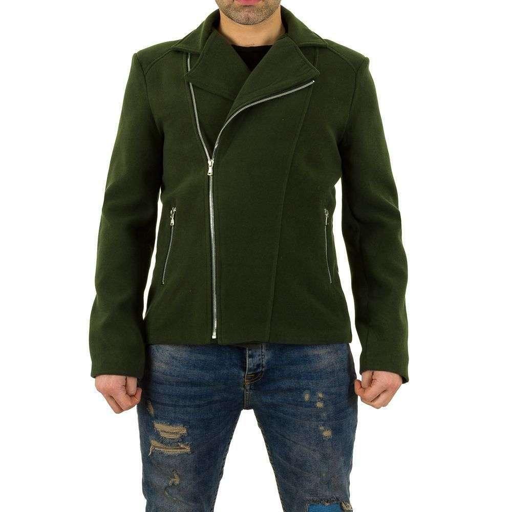 Байкерское пальто мужское Uniplay (Европа), Зеленый
