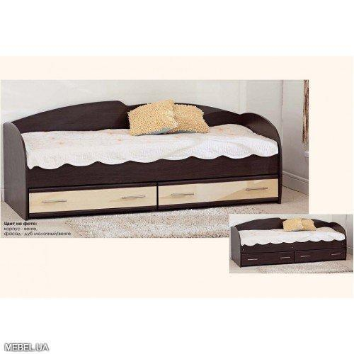 Кровать с выдвижными ящиками К-117 Комфорт Мебель