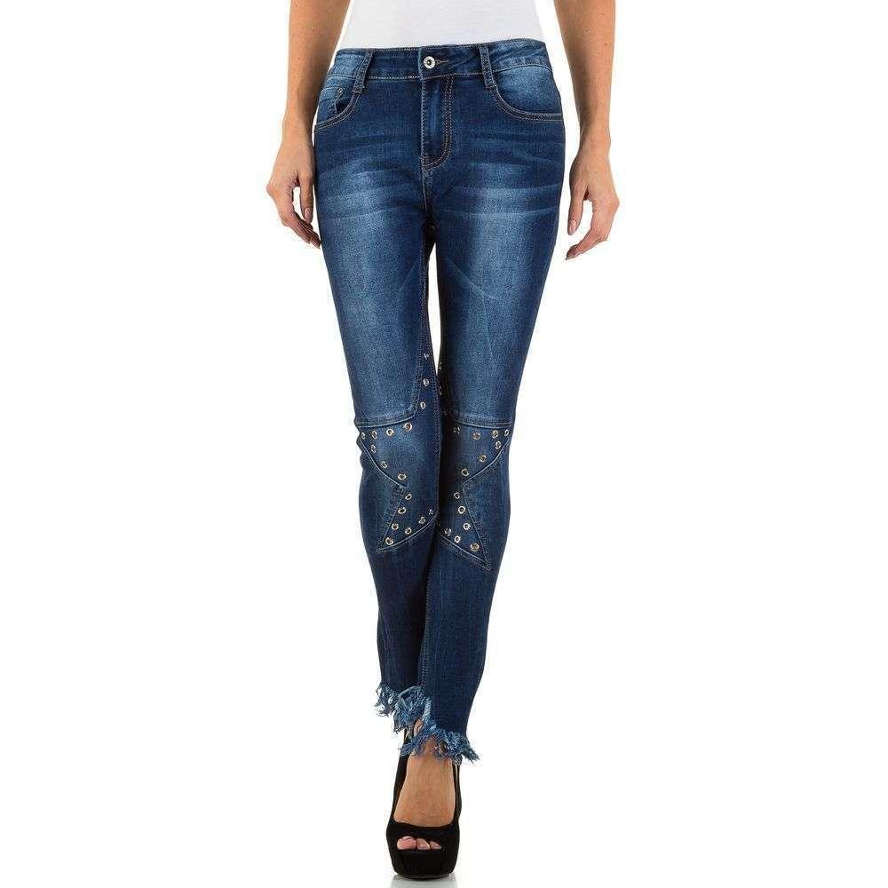 Женские джинсы Denim Life - blue - KL-J-D802-1-blue