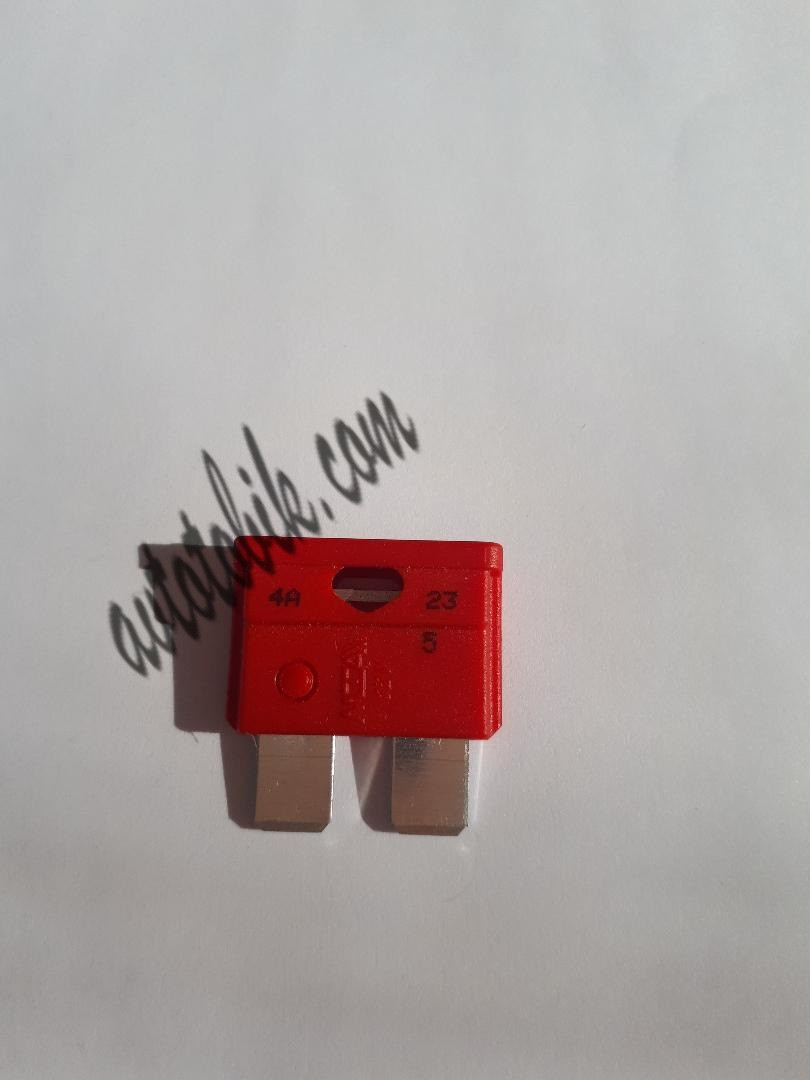 Предохранитель автомобильный Евро 10А красный MTA (1 шт.)