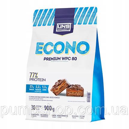 Сывороточный протеин UNS Econo Premium 77% 900 г, фото 2