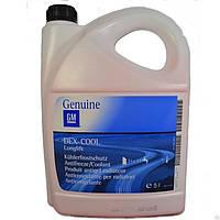 Антифриз GM - оригинальная жидкость для системы охлаждения 5л