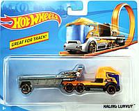 Грузовик-трейлер Hot Wheels Racing Convoy BFM60