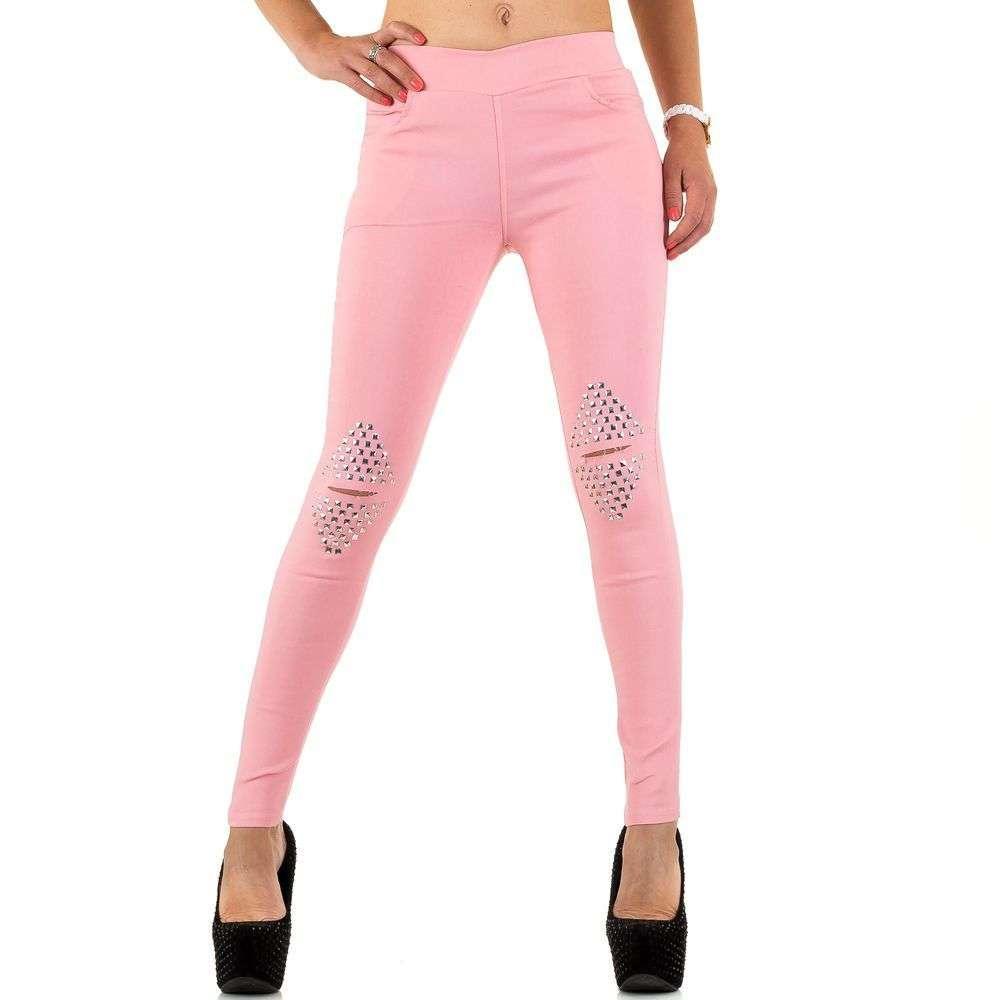 Женские джинсы от Best Fashion rose - SS-BF67223-Роза