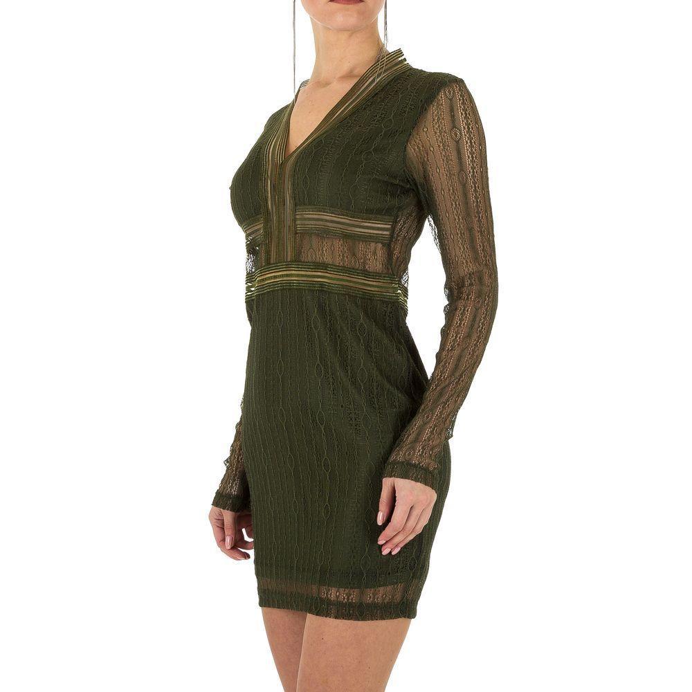 Женское платье от Emmash Paris Gr. S/36 - Army Green - KL-МУ-1061-Army Green S