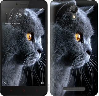 "Чехол на Xiaomi Redmi Note 2 Красивый кот ""3038c-96-19380"""