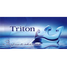 Душевые шторы (стекло) Тритон