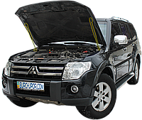 Газовый упор капота (амортизатор капота) для Mitsubishi Pajero Wagon 4 / Митсубиши Паджеро Вагон 4 (2005-2018)