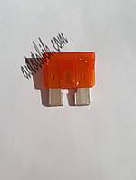 Предохранитель автомобильный Евро 40А оранж Tesla (1 шт.), фото 1