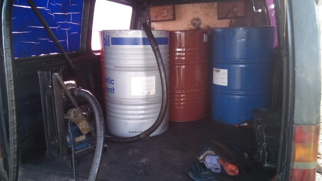 Купим отработку моторного масла