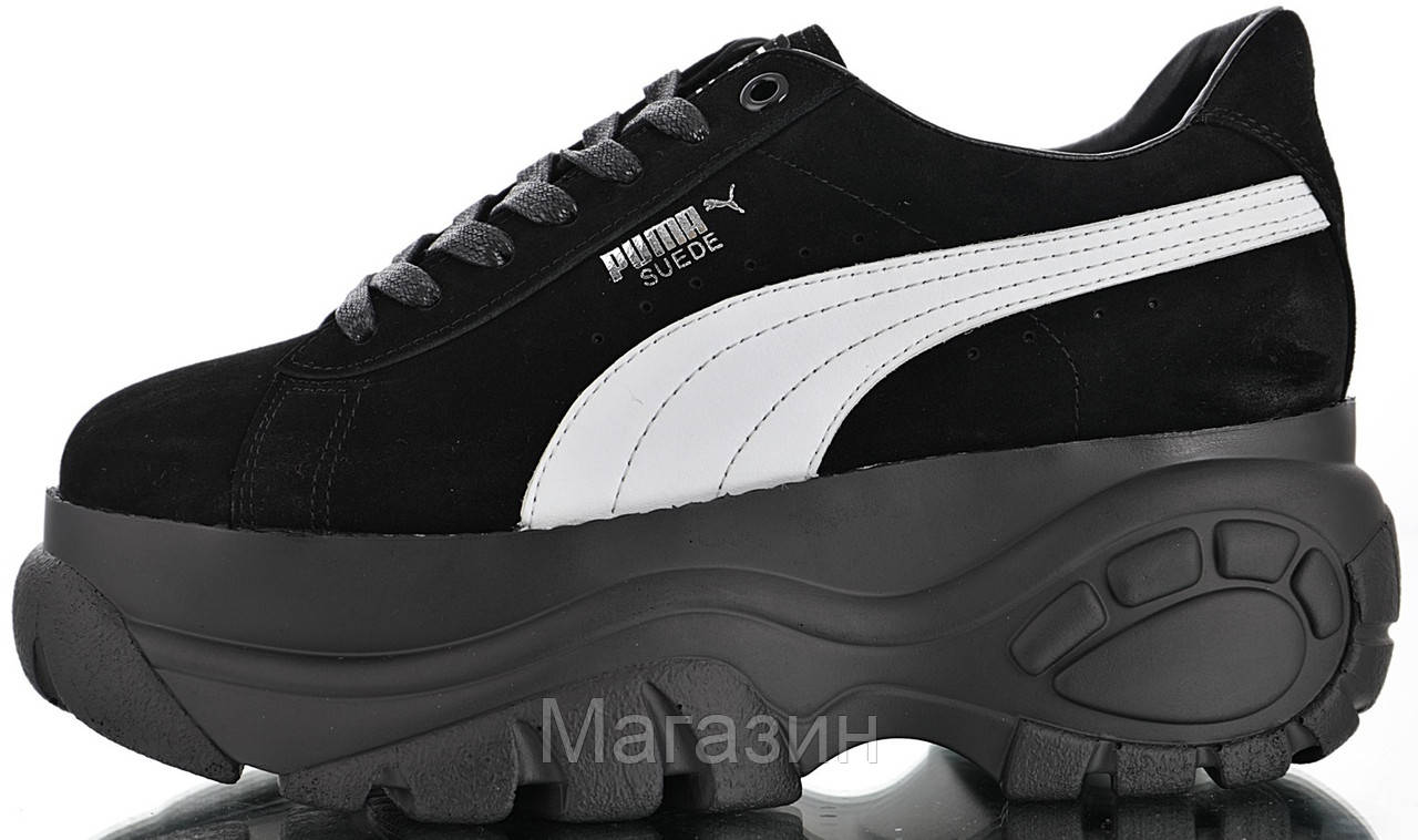 f080008fcff95 Женские кроссовки Puma x Buffalo London Suede Platform