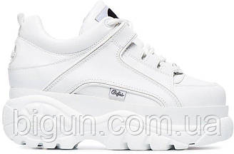 Женские кроссовки Buffalo London White (буффало, белые)