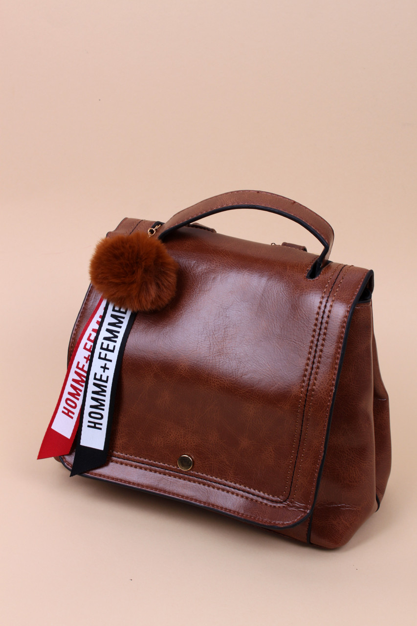 d3f78a2b4ddb Рюкзак-сумка Мальвия коричневая, цена 459 грн., купить в Хмельницком ...