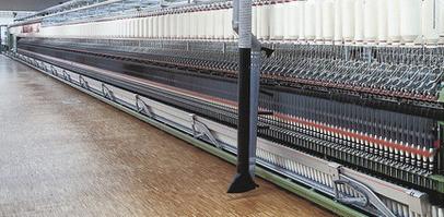 Транспортерні стрічки Habasit в текстильній промисловості