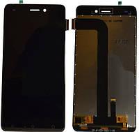 Дисплей для Nomi i5011 Evo M1 + тачскрин, черный