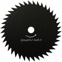 Нож для мотокосы Werk 80T (255*25,4*1,6мм*80Т)