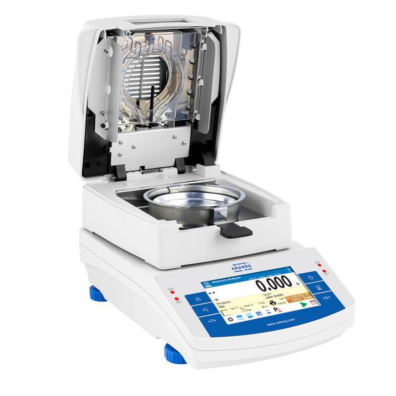 Влагомер Radwag MA 210 Х2 A, 210 г х 1 мг, влажность 0.001 %, сенсорный, автооткрывание