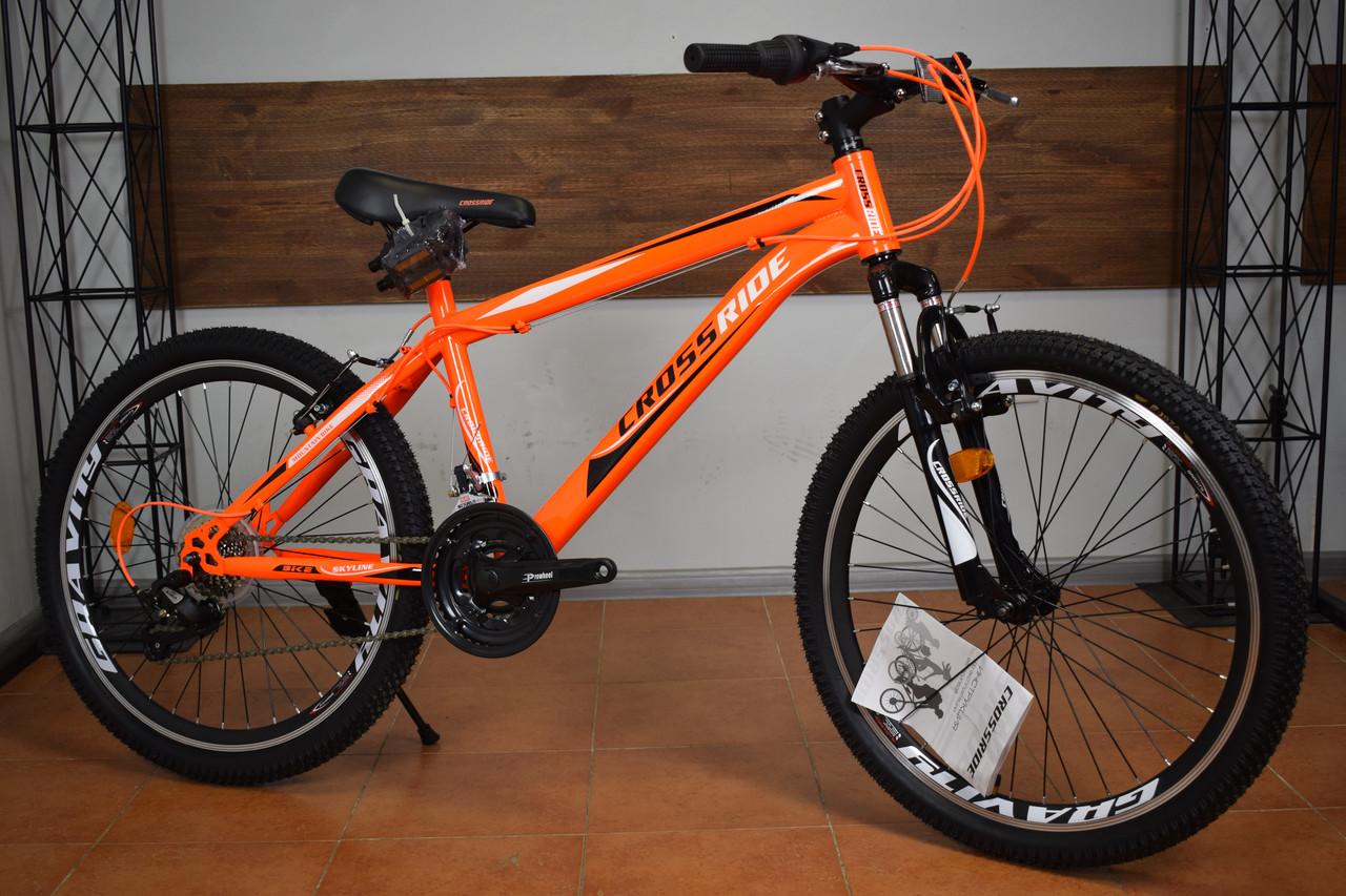 """Подростковый горный велосипед 24"""" Crossride Skyline (Ardis)"""