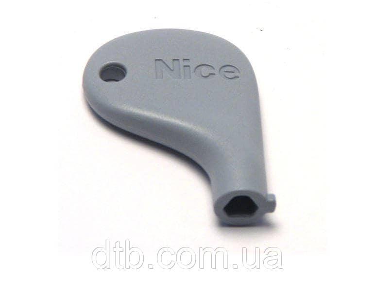 Ключ пластиковый для разблокировки привода NICE Pop, RBkce, Wingokce PPD1244.4540