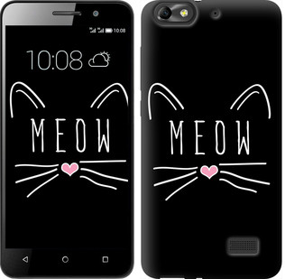 """Чехол на Huawei Honor 4C Kitty """"3677c-183-19380"""""""