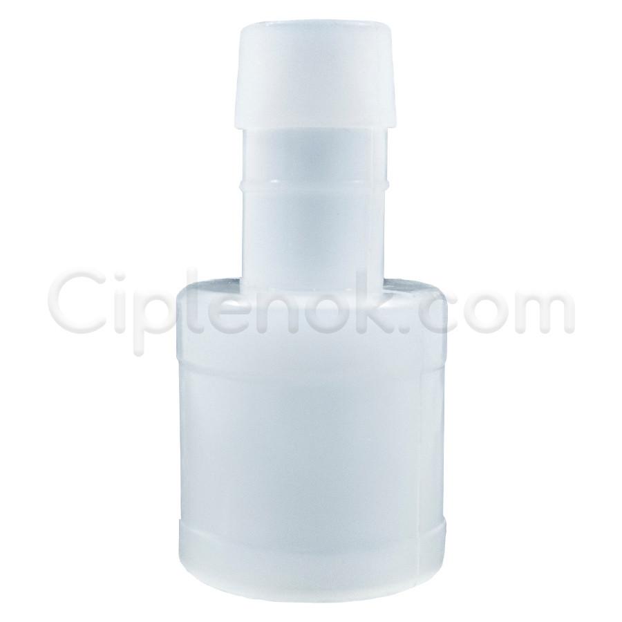 Пластиковый штуцер (25мм-13.5мм)