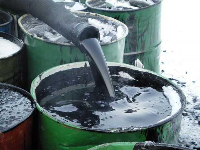 Вывоз отработанного масла,сбор отрабртки Киев