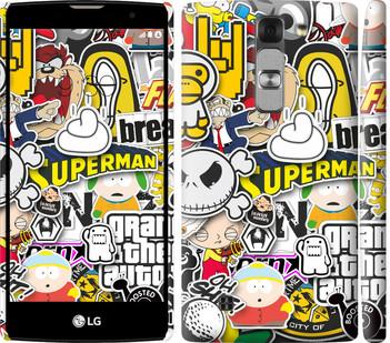 "Чехол на LG G4c H522y Popular logos ""4023c-389-19380"""