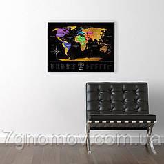 Скретч карта Travel Map BlackWorld