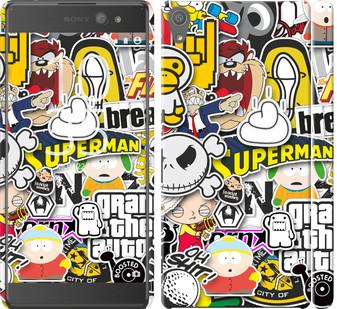 "Чехол на Sony Xperia XA Ultra Dual F3212 Popular logos ""4023c-391-19380"""