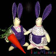 Интерьерные игрушки ручной работы. Кролики