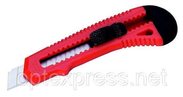 Нож для бумаги 18мм  с выдвижным лезвием ALCO