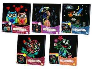 Комплект креативного творчості Danko Toys Ізонитка 5 видів IZN-01-06,07,08,09,10