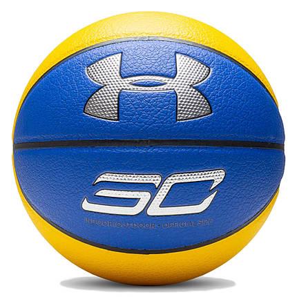 Мяч баскетбольный Under Armour Curry Composite 1328459-400, фото 2