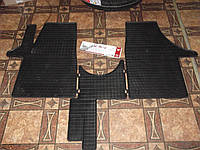 Коврики резиновые трйные на VW T5 03-, фото 1