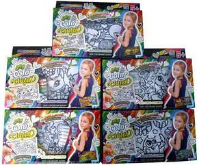 """Комплект креативної творчості """"My Color Clutch"""" клатч-пенал-Розмальовка  c ФЛОМАСТЕРАМИ 7461, DANKO TOYS"""