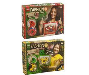 """Набор для творчества """"Fashion Bag"""" Вышивка лентами 5659, DANKO TOYS"""