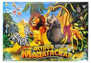 "Гра настільна МАЛ ""Мадагаскар""  4690, DANKO TOYS"