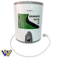 💧 Бойлер 15 л Grunhelm GBH I-15V водонагреватель накопительный (нижнее подключение), нержавеющий бак