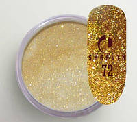 Акриловая пудра цветная / Shimmer Collection 72, 5 г