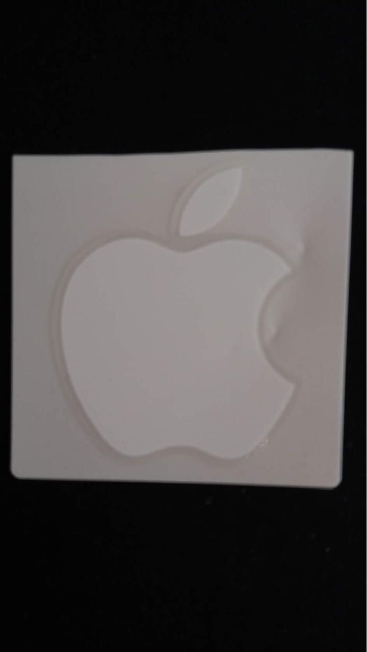 """Наклейка """"Apple"""" - 5,5*6,5см"""