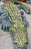 Скульптура Крокодил полистоун  14*82 см