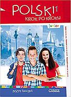 Polski, krok po kroku Junior 1 Zeszyt ćwiczeń + Mp3 CD + e-Coursebook