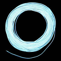 Холодный неон / электролюминисцетный провод 2-го поколения 2,2 мм, белый (розница, опт)