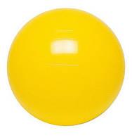 Гимнастический мяч ABS GYM BALL КМ-13, 45 см, цвет желтый, Qmed, Польша