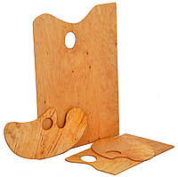 Палитра деревянная