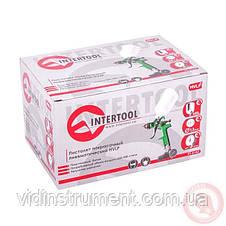 Пистолет покрасочный пневматический Intertool PT-0102, фото 2